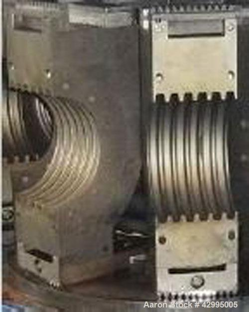 "Used-Unicor Corrugator Line for PE double wall pipes, 1.58"" - 9.8"" (40-250 mm) diameter, comprised of:  (1) UC 250 die head,..."
