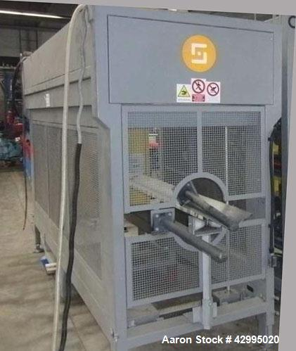 "Used- Pipe Extrusion Line for 4.92"" (125 mm) PE pipes."