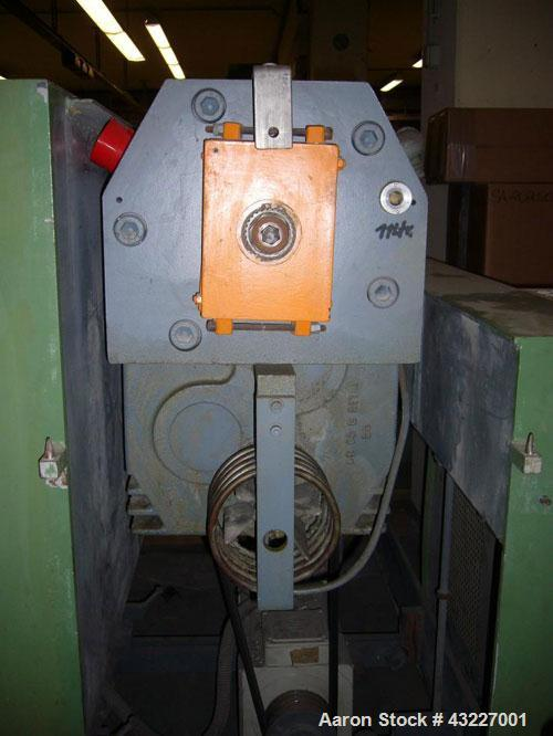Used-Profile Extrusion Line, maximum capacity 242 lbs/hour (110 kg/hour), main motor 76 hp (57 kW).Comprised of:(1) Extruder...