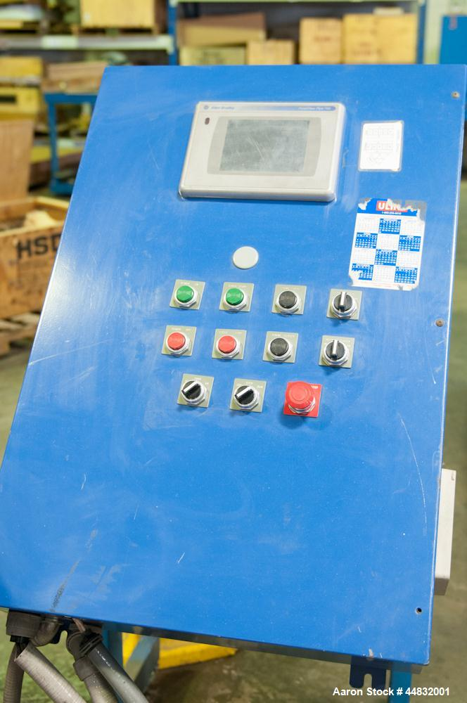 "Used-Rotary Vacuum Forming Machine, Model 3660.  3 Station, max forming area 40"" x 57.5"", top platen stroke 24"", bottom plat..."