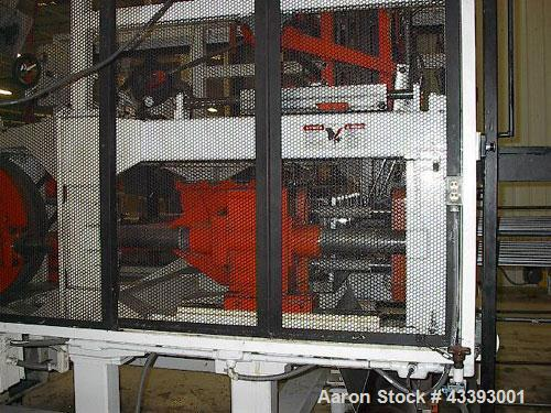 "Used-Brown Inline Thermoformer, Model C-4200R (also known as a model 42P).  Max forming area 40"" x 40"", depth of draw 6.5"", ..."