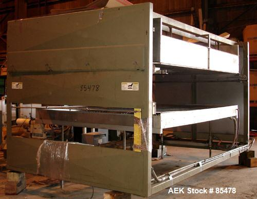 Used- Brown Cut Sheet Single Station, Shuttle Motion Vacuum Thermoformer, Model M-11147