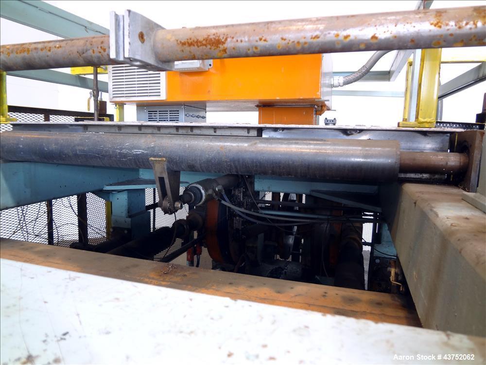 Used- Brown Horizontal Mechanical Trim Press