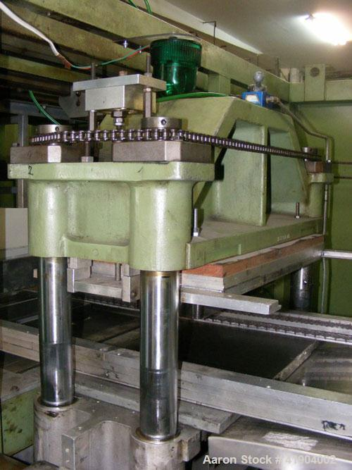 """Used-Illig RV 53 Thermoformer. Forming area 20"""" x 14"""" (500 x 350 mm), film width 21"""" (540 mm), depth of draw positive/negati..."""