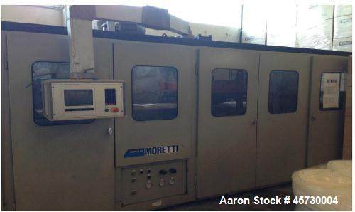 "Used- Moretti Thermoformer VPK C76. Effective thermoforming area 28"" x 24"" (700 x 600 mm). Max. stretch 5"" (120mm). Sheet le..."