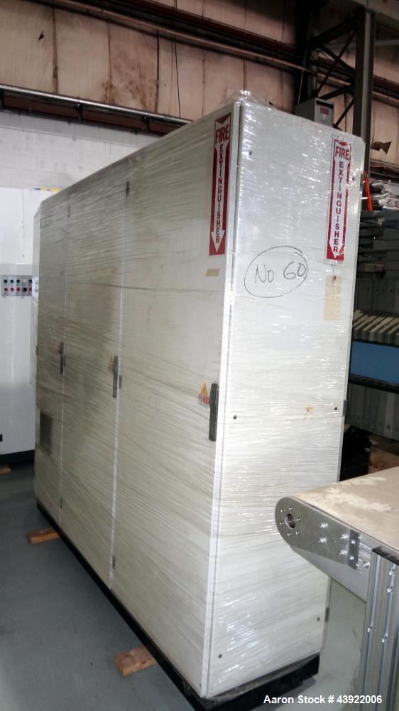 Used- OMV Thermoformer Model F25-R10, Built New in 2004. Maximum forming area 850mm x 250mm wide. Maximum forming depth 150m...