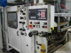 Used-Gabler D600 Complete Thermoforming Line for Lids, comprised of (3) computer controlled dosing units, (1) Battenfeld ext...