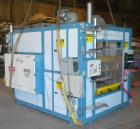 Used- ZMD International Shuttle Thermoformer Model V-223. Approximate 24'' x 36'' forming area. Includes an Advantage Sentra...