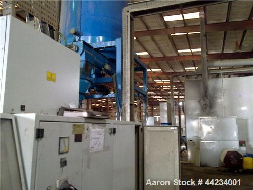 Used-Amut Full Recycling Line including washing and extrusion.  Maximum capacity 1150 kilos/hour.  Fully automated.  (1) Con...