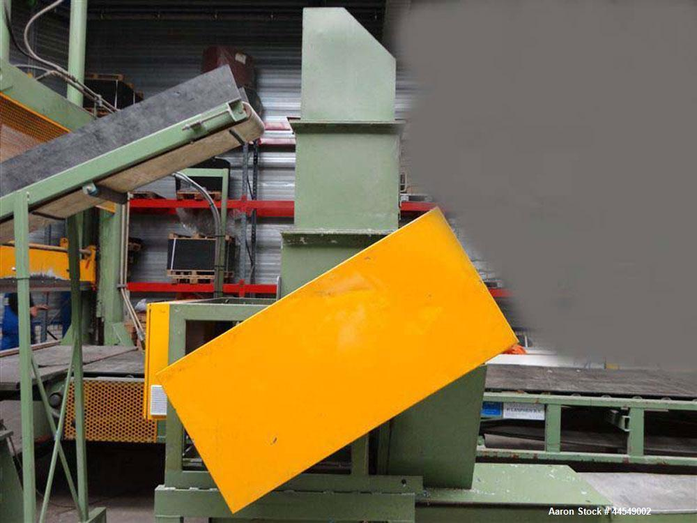 "Used-Berstorff Complete Sheet Extrusion Line.  Three rollers.  Width 45.2"" (1150 mm), diameter 13.7"" (350 mm). Comprised of:..."