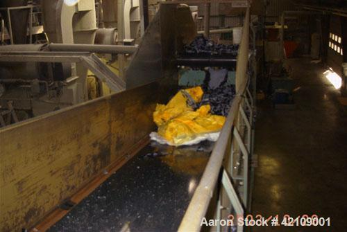 Used-Costarelli Agglomeration/Recycling Line, type D-1500/560 with a capacity of 1760 lbs/800 kgs per hour, consisting of:(1...