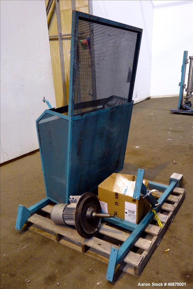 Used- Erema Plastic Recycling Line Consisting of: (1) Erema model COAX 100E gran