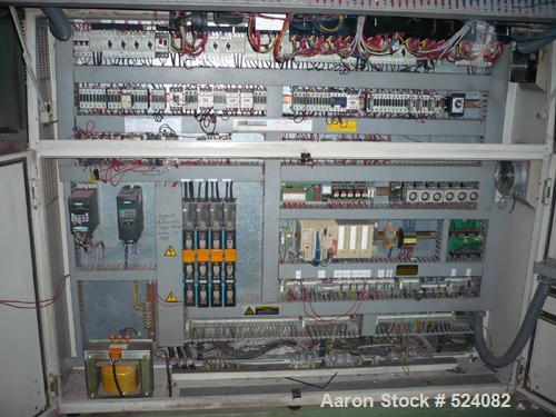 USED: Erema RGA 120 TVE-HG. Erema with inclined belt conveyor andmetal detector, model FZA 80x40. Koellman extruder, type UN...