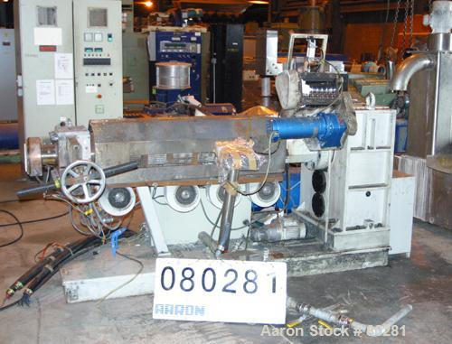 Used- Munchy Recycling Line Consisting