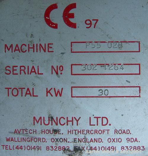 Used- Munchy Recycling Line