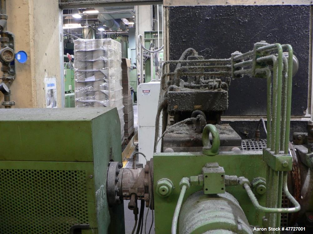 Used- NGR Next Generation Underwater Granulation Recycling Line. Rated up to 440-700 pounds per hour (200-350 Kg). System co...