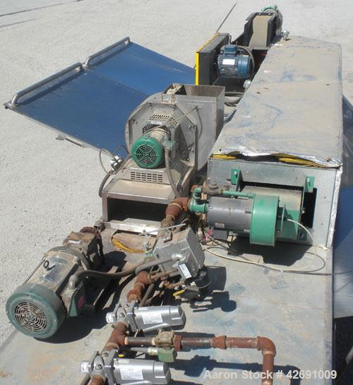 Used- Polymer Recovery Systems PlastiCycler System Consisting Of: (1) Plasticycler continuious washer and dryer. Approximate...