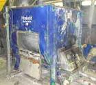 Used-Plastic Shredding, Washing and Sieving Plant, output 500-1000 kg/h.Comprised of:(1) Vecoplan VAZ 1100 XL single shaft s...