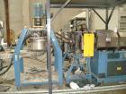 OMP PREALPINATR 130 complete recycling plant for plastic material as PE PP PS PC EPS etc,construction year 2003, extruder di...