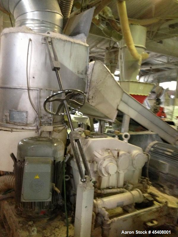 Used- YEI Plastic Recycling/Granulation Line