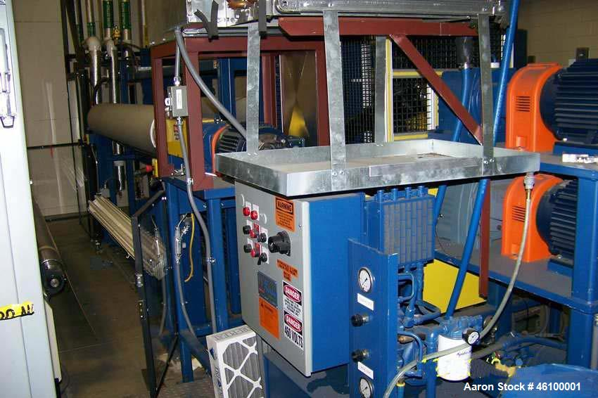 Unused - Tinted Window Film Line, consisting of Karl Rabofsky Embosser, Type E-2000 / 240, Pleater and Chiller. Built in 200...