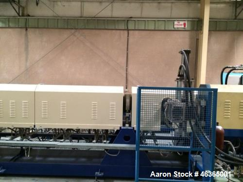 "Used- Pitac XPS Foam Extrusion Line. Built 2004. Capacity 551 lbs/h (250 kg/h). Output thickness 0.98""-2.36"" (25-60 mm), den..."