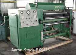 "USED:Sheet line, 28"" wide, consisting of: (1) Battenfeld 1.5""diameter single screw extruder, 24:1 L/D ratio, 3 zone electric..."