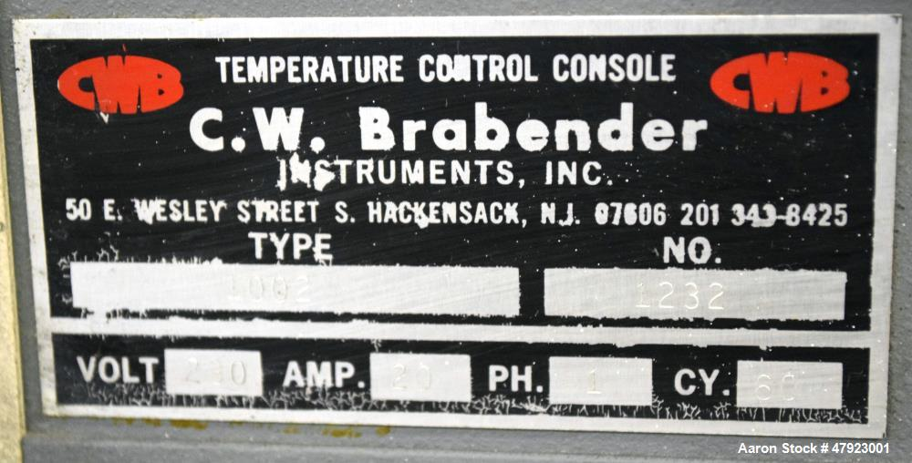 "Used- C.W. Brabender 6"" Wide Sheet Line"