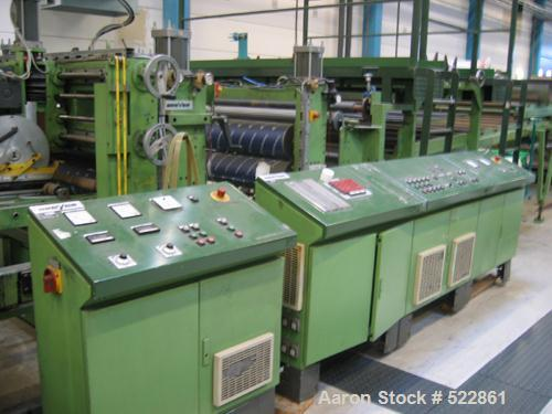 "USED: Breyer 60"" (1560mm) sheet line for 1.5 mm sheet thickness x 1500 mm with a capacity of 808 lbs/400 kgs per hour consis..."