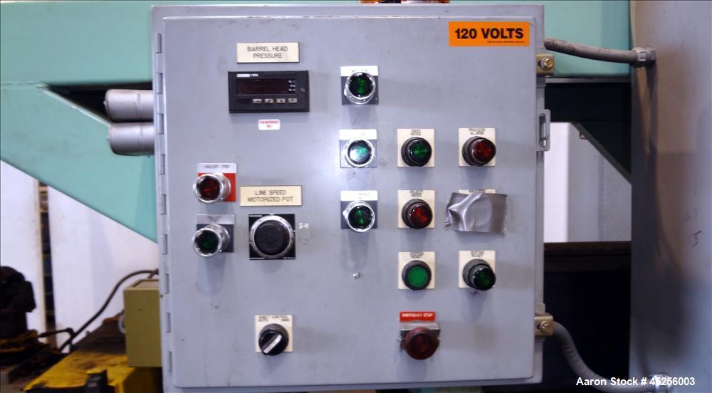 "Used- Davis Standard 54"" Wide Sheet Line"