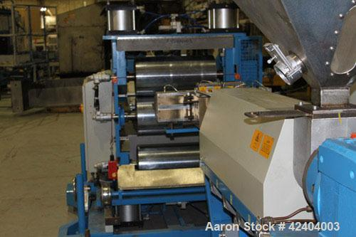 "Used- Davis Standard 50mm (19.6'') Co-Extrusion Sheet Line Consisting Of: (1) Davis Standard 50mm (2"") diameter single screw..."