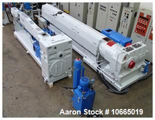 "Used- 2950mm (116.1"") Wide Davis Standard Co-Ex Sheet Extrusion Line. 150mm (5.90"") Davis Standard extruder, 115mm (4.5"") Co..."