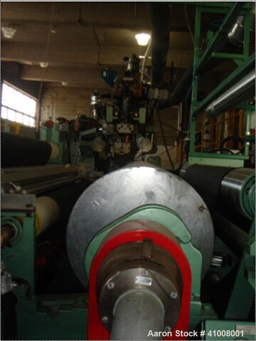 """Used 2-1/2"""" x 32:1 DEAC Vented MAC Extruder with 75 hp DC non-regenerative 2-1/2"""" x 32:1 mixing screw. 2-1/2"""" valved adapter..."""