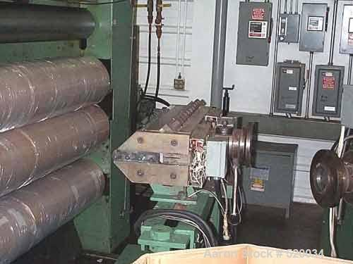 "USED: Davis Standard 75mm extruder, 54"" Johnson sheet line as follows: (1) Used 75mm Davis Standard extruder, electrically h..."