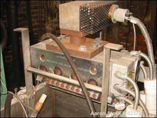 """USED: Davis Standard stretch tape line for lab or pilot plant use. Complete with (1) used Davis Standard 1.5"""" thermatic extr..."""