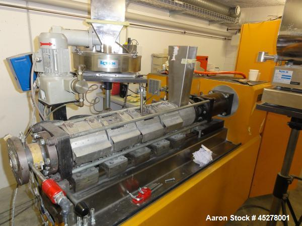 Used-Dr Collin ZK 50 Laboratory Twin Screw Extruder