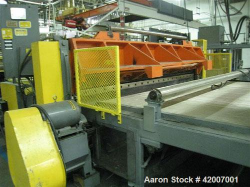 "USED 120"" HPM SHEET EXTRUSION LINE(1984) CONSISTING OF THE FOLLOWING:A) (1) USED CONAIR FRANKLIN AUTOWEIGH GRAVIMETRIC BLEND..."