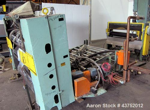 """Used- NRM 54"""" Wide 3 Roll Sheet Stack"""