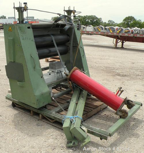 """Used- Kuhne 31.2"""" (800mm) Sheet Line. Approximate Capacity 550-660 lbs/250-300 kgs of PS per hour. Line consisting of: (1) K..."""