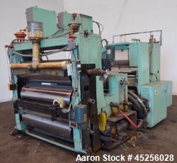 Used- Goulding 3 Roll Sheet Stack