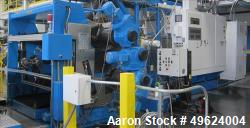 """Used-72"""" Wide Co-Extrusion Line Consisting of the following: Primary extruder HPM 4.5"""" Screw Diameter, Model 4.5-TM-III-30:1..."""