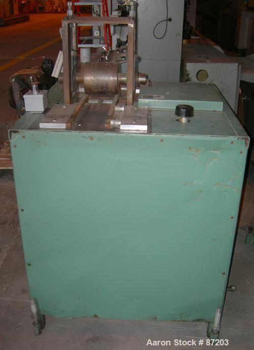 Used: Embossing roll with stand