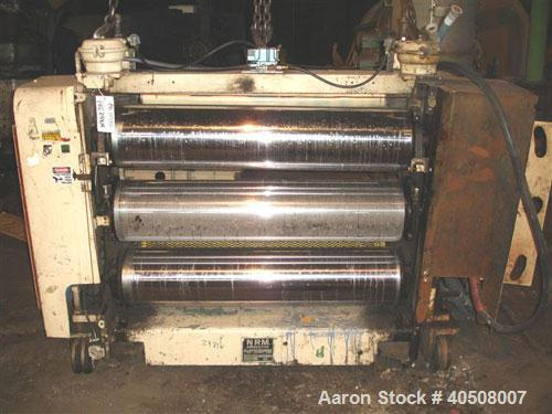 "Used- NRM 54"" 3 Roll Sheet Stack"