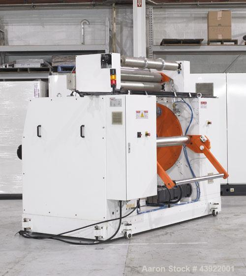 "Used- OMV Sheet Extrusion Line Consisting Of: (1) OMV 80mm (3.14"") single screw extruder, model D80AR+GP+CAL/TRA, approximat..."