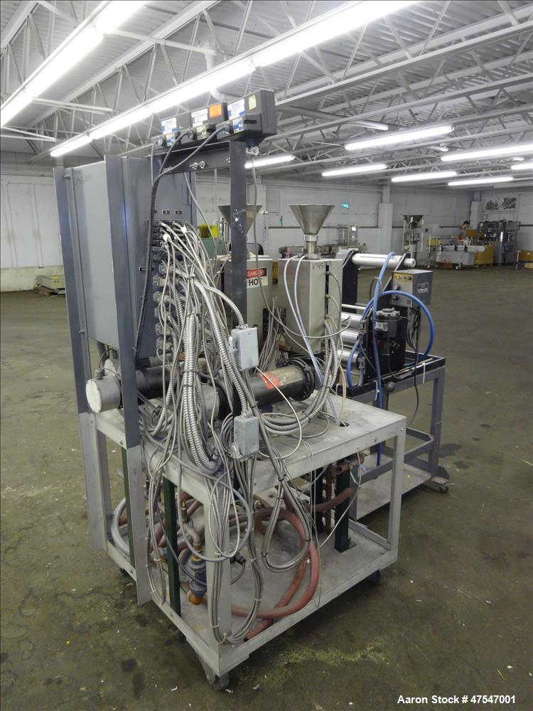 Used- Randcastle Extrusion System 3 Layer Co-Extrusion Sheet Line
