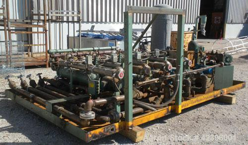 Used- Davis Standard Sterling Sheet Line Consisting Of: (1) Davis Standard 6'' diameter single screw extruder, approximate 3...