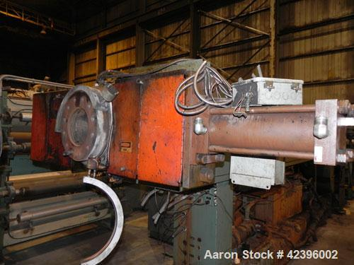 Used- Sterling Sheet Line Consisting Of: (1) Sterling 6'' diameter single screw extruder, approximate 32:1 L/D ratio, electr...