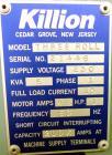 "Used- Davis Standard Killion 2"" Wide Sheet Line Consisting Of: (1) Davis Standard Killion 1"" single screw extruder, approxim..."