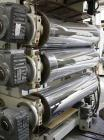 USED: Gefran sheet extrusion line. (1) Extruder Tr1-75/35, screw diameter 2.95