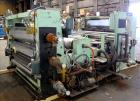 Used- Goulding 3 Roll Sheet Stack. (3) 16